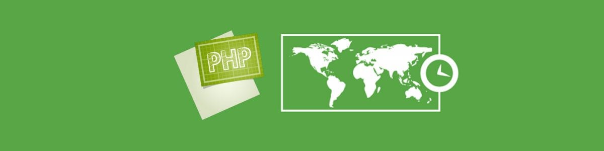 How to change timezone in php website