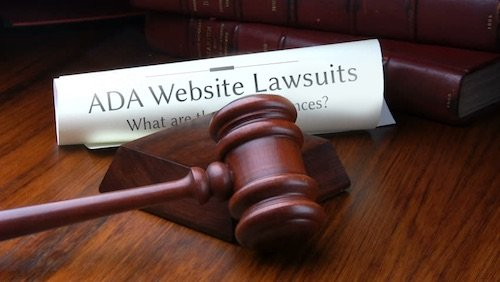 Avoid ADA website lawsuits